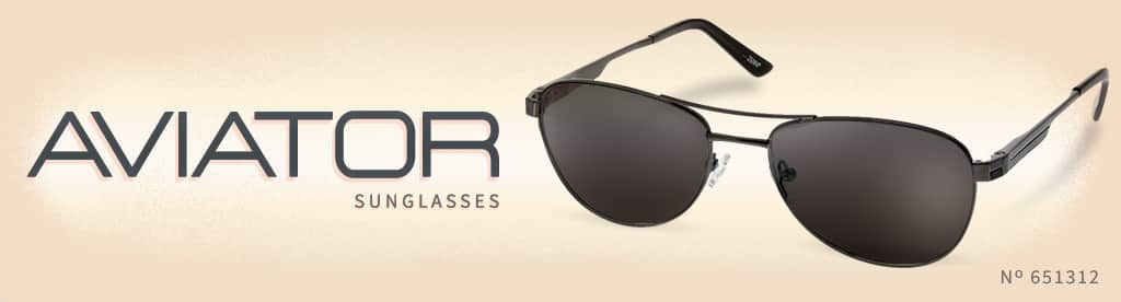 Aviator Sunglasses, Frame #651312