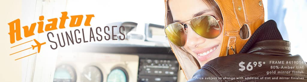 Aviator Sunglasses, Frame #419014