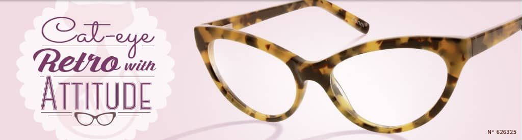Cat-eye, Retro with Attitude, frame #626325