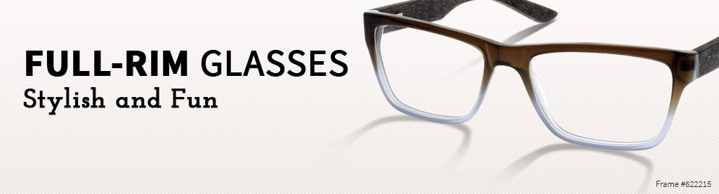 Full-Rim Glasses, Stylish and Fun, frame #622215