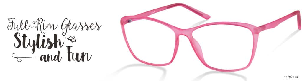 Full-Rim Glasses, Stylish and Fun, frame #207318