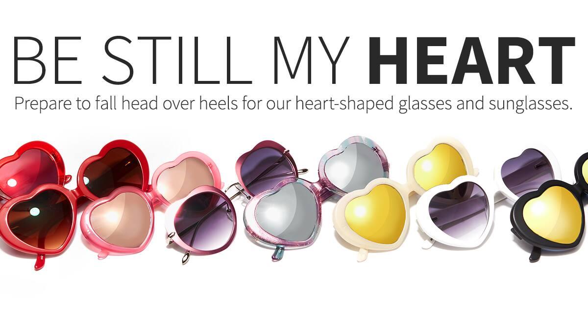 Zenni Optical Heart Shaped Glasses : Heart-Shaped Glasses Heart-Shaped Prescription Glasses ...