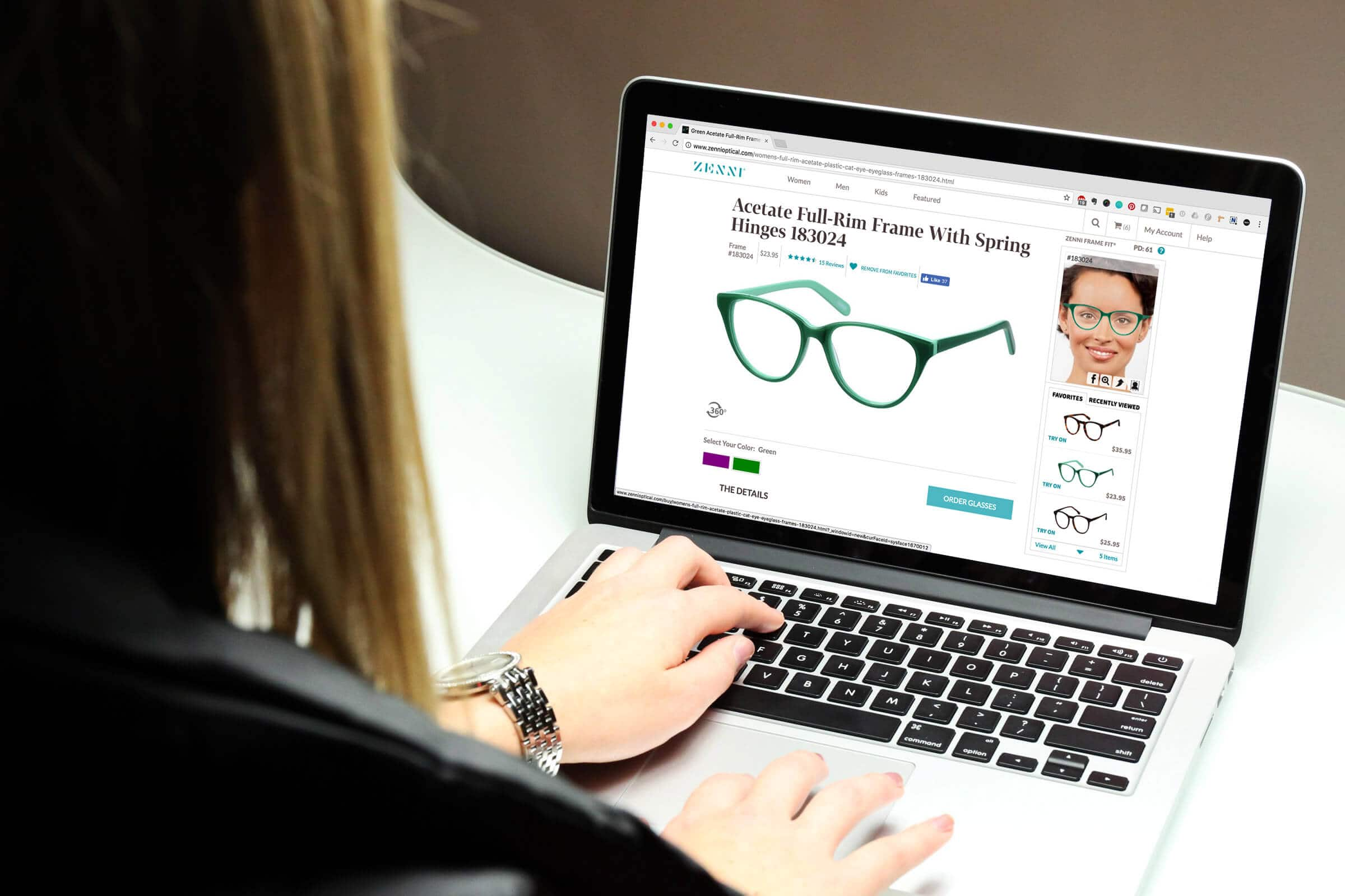 Shopping for Glasses Online From the Comfort of Your Home