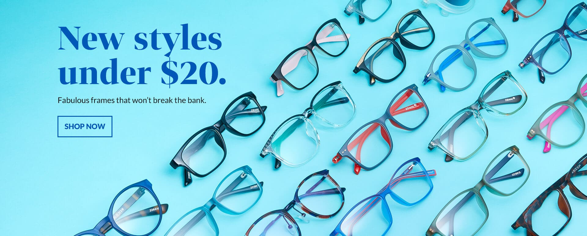 20 under 20   Zenni Optical
