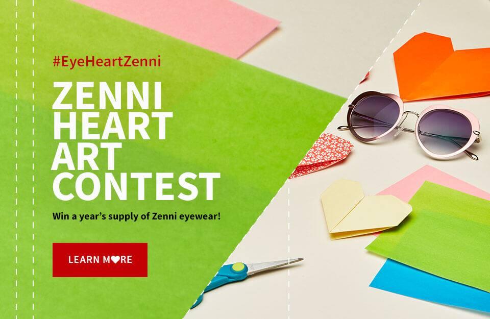 Heart Art Contest   Zenni Optical