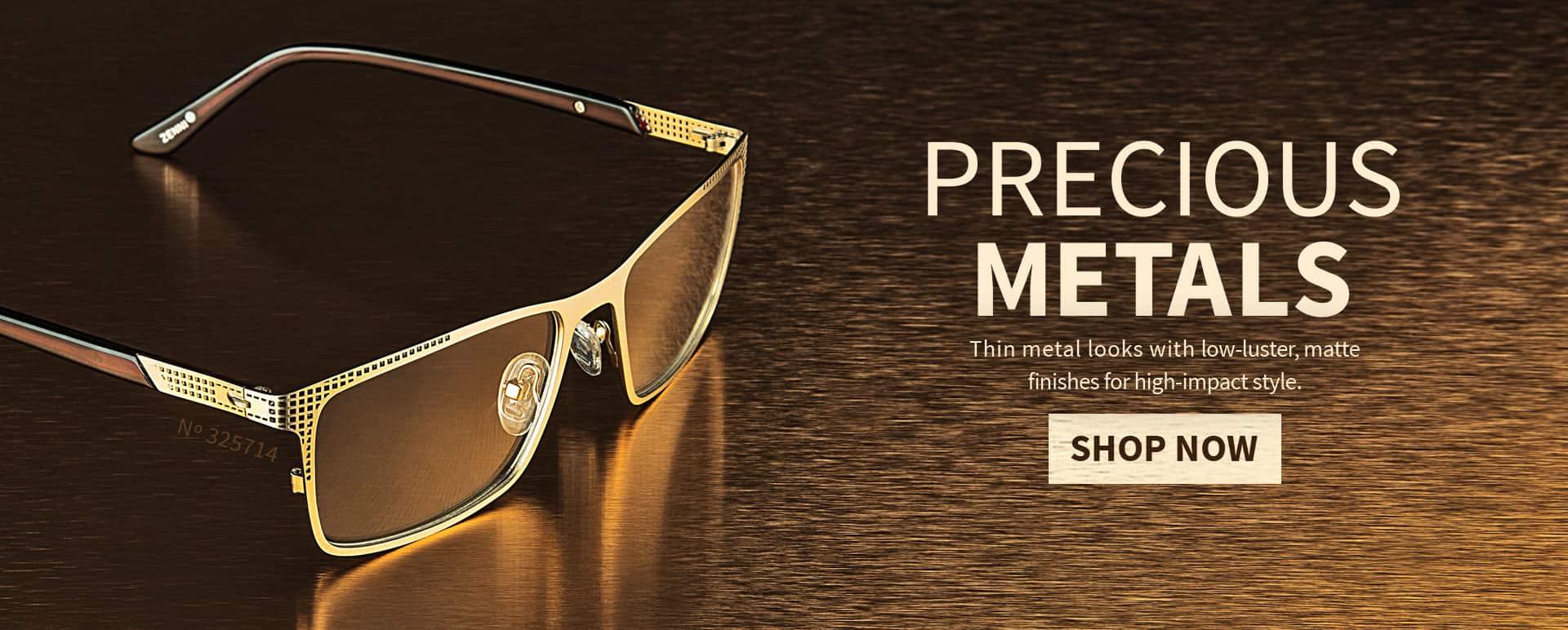 Thin Metal Eyeglasses | Zenni Optical