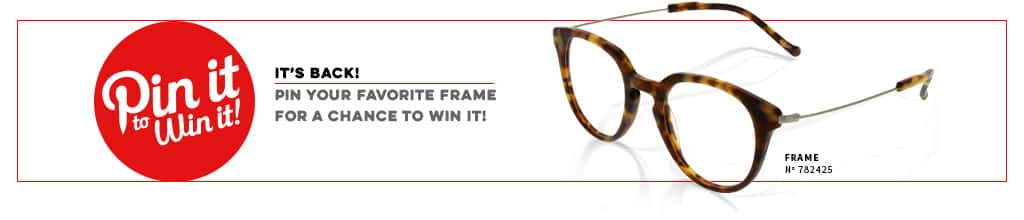 Pin it to Win it! Pin your favorite frame for a chance to win it!