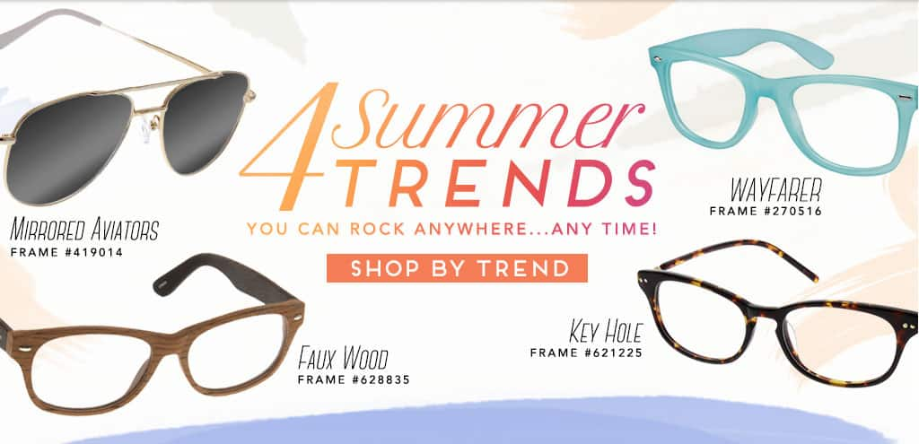 4 Summer Trends You Can Rock Anywhere... Any Time