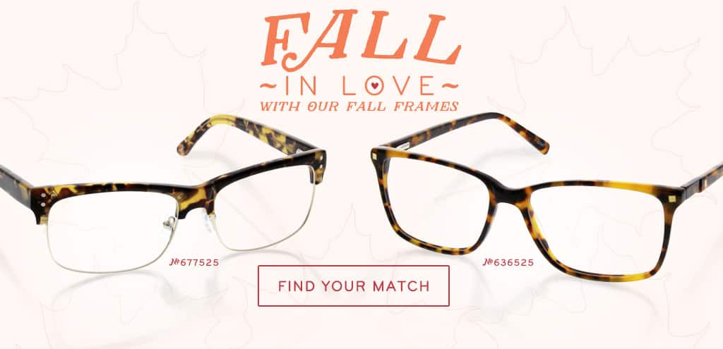 Fall In Love With Our Fall Frames.