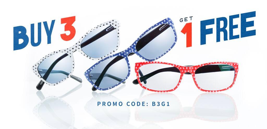 Buy 3 Get 1 Free. Promo Code B3G1
