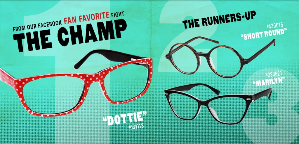 Meet our Fan Favorites: Dottie #631118, Short Round #430015, and Marilyn #283621