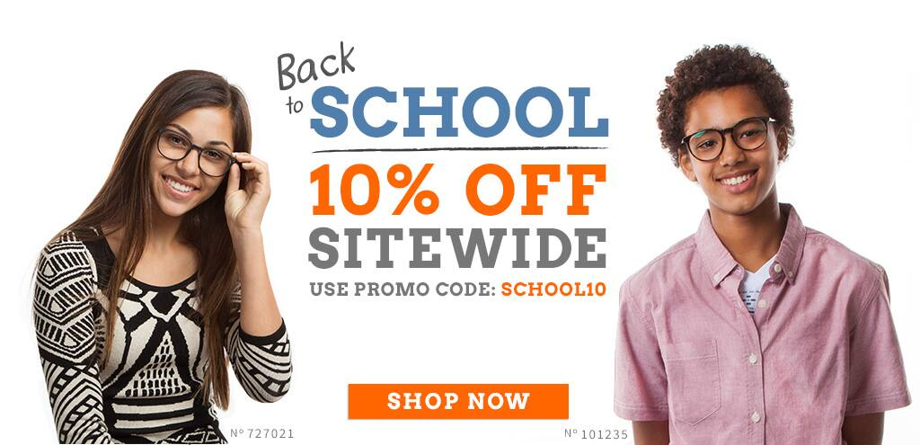 Back to school. 10% off sitewide. Use promo code: SCHOOL10. Shop Now