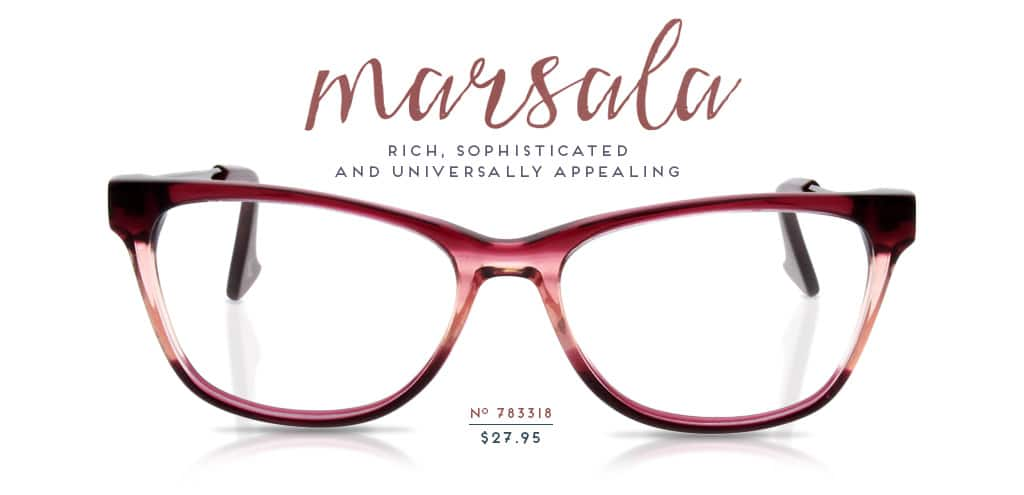 Marsala; Rich, sophisticated and universally appealing. Frame #783318