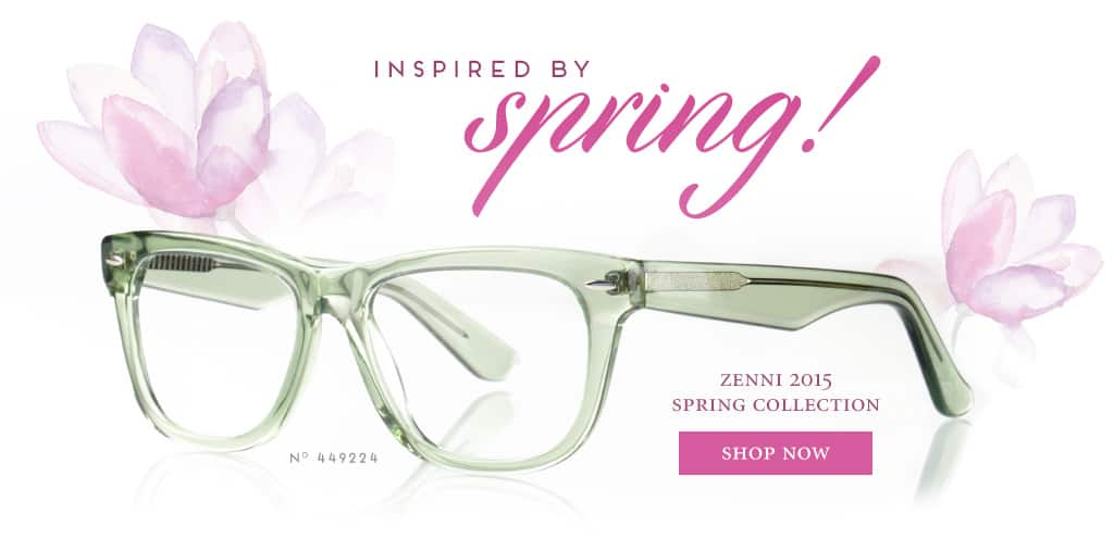 Inspired By Spring! Zenni 2015 Spring Collection