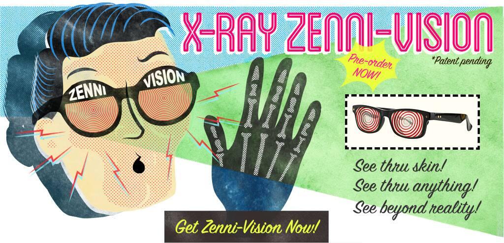 X-Ray Zenni-Vision