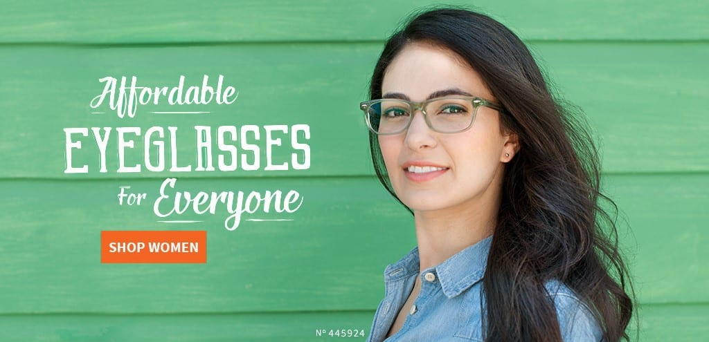 Shop affordable eyeglasses for women