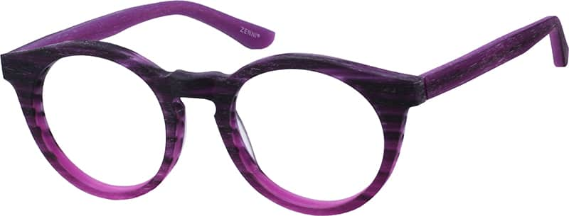 Women Full Rim Acetate/Plastic Eyeglasses #100015