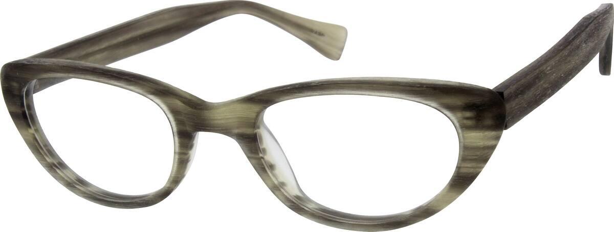 WomenFull RimAcetate/PlasticEyeglasses #100512