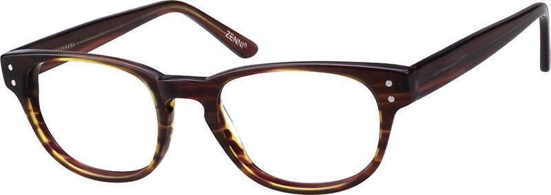 UnisexFull RimAcetate/PlasticEyeglasses #101124