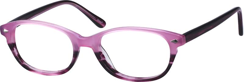Oval Acetate Eyeglasses