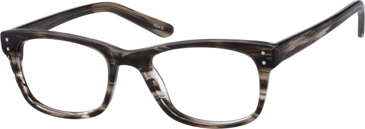 MenFull RimAcetate/PlasticEyeglasses #102421