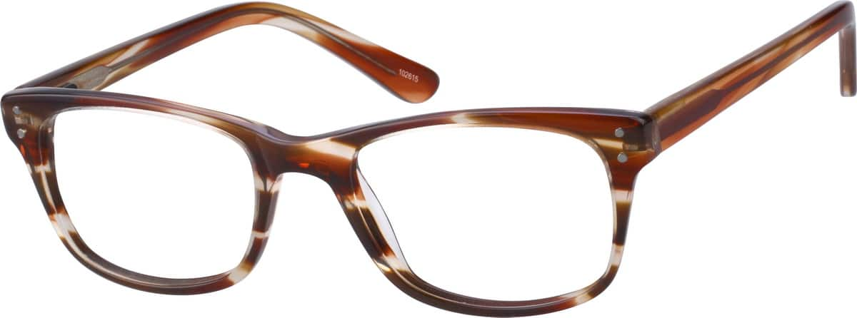 1026 Acetate Full-Rim Frame with Spring Hinges