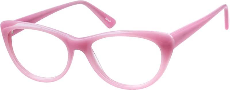 Pink Cat-Eye Eyeglasses #1028 | Zenni Optical Eyeglasses