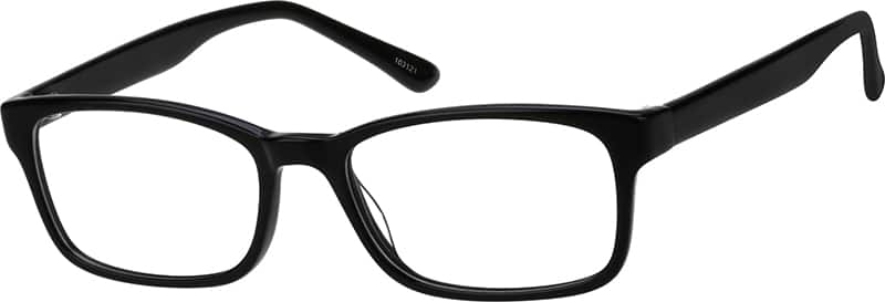 Zenni Black Stylish Rectangular Eyeglasses