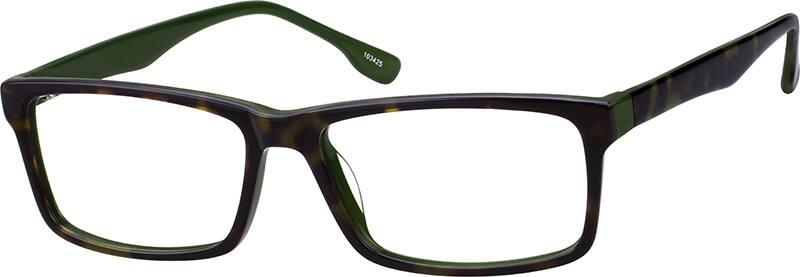 UnisexFull RimAcetate/PlasticEyeglasses #103425