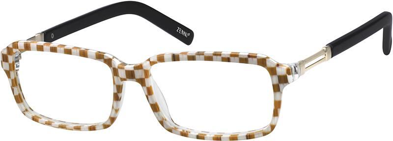 MenFull RimAcetate/PlasticEyeglasses #104721