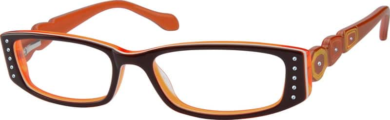 Women Full Rim Acetate/Plastic Eyeglasses #10483722
