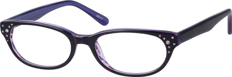 Eyeglass Frames Zenni : Purple Acetate Full-Rim Frame #104872 Zenni Optical ...