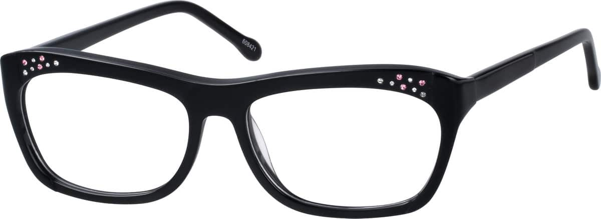 Women Full Rim Acetate/Plastic Eyeglasses #10608421