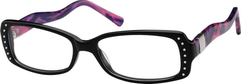 WomenFull RimAcetate/PlasticEyeglasses #10611421