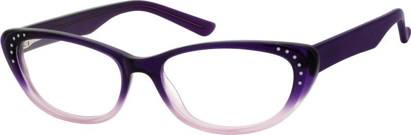 Women Full Rim Acetate/Plastic Eyeglasses #10618817