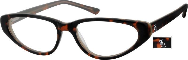 WomenFull RimAcetate/PlasticEyeglasses #10618916