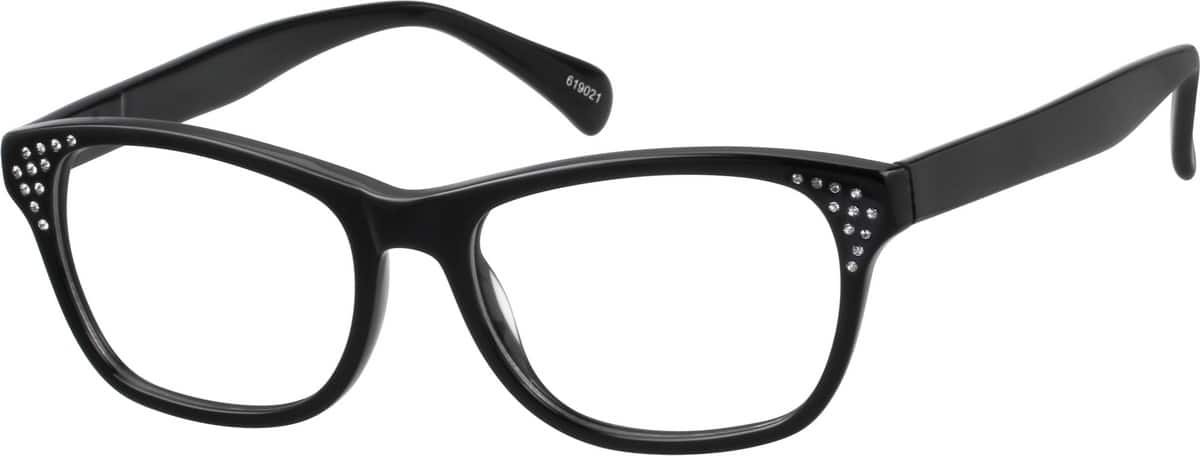 WomenFull RimAcetate/PlasticEyeglasses #10619017
