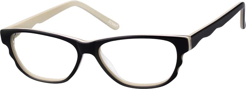 Women Full Rim Acetate/Plastic Eyeglasses #106818