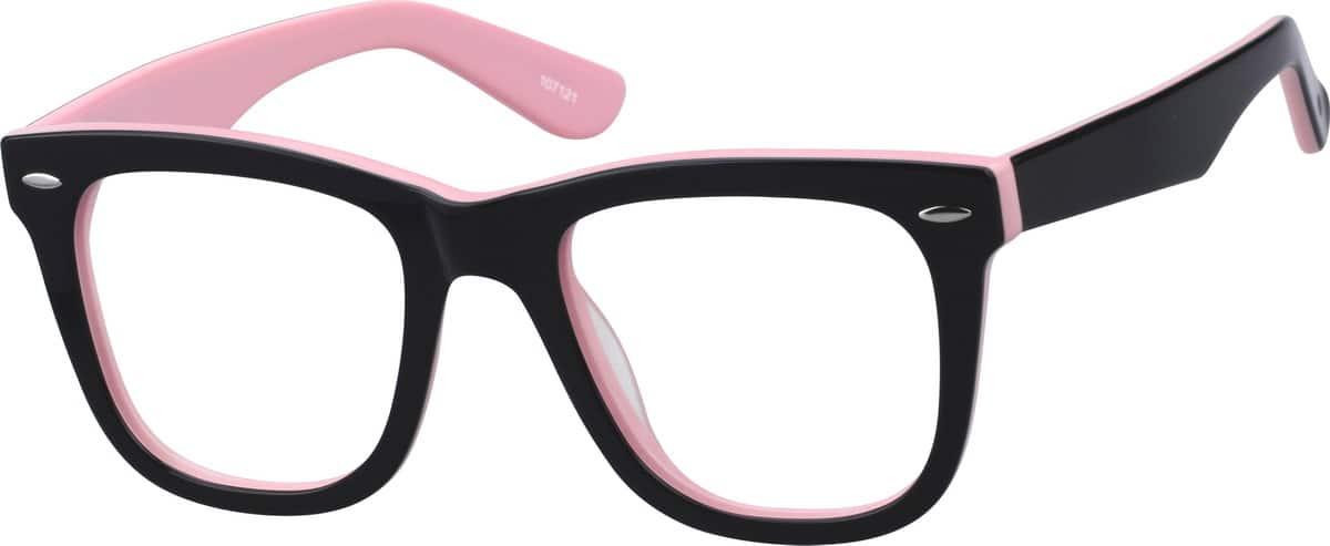 Zenni Optical Square Glasses : Black Square Acetate Eyeglasses #1071 Zenni Optical ...