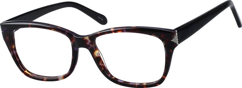 WomenFull RimAcetate/PlasticEyeglasses #107725