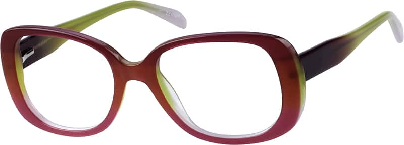 Women Full Rim Acetate/Plastic Eyeglasses #110417