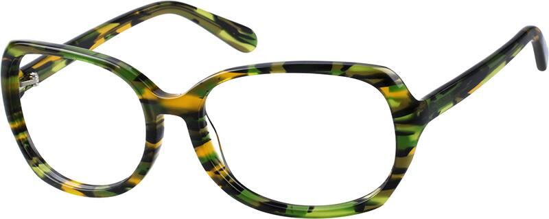 WomenFull RimAcetate/PlasticEyeglasses #110535