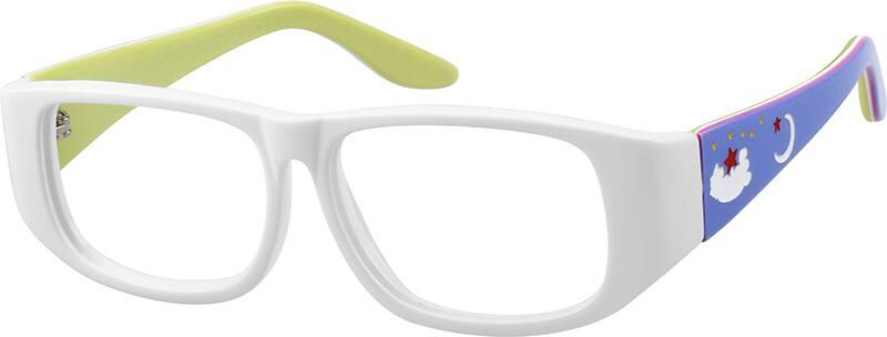 GirlFull RimAcetate/PlasticEyeglasses #110930
