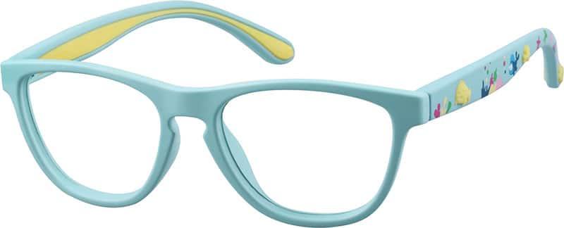 KidsFull RimAcetate/PlasticEyeglasses #1110516