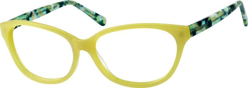 WomenFull RimAcetate/PlasticEyeglasses #111222