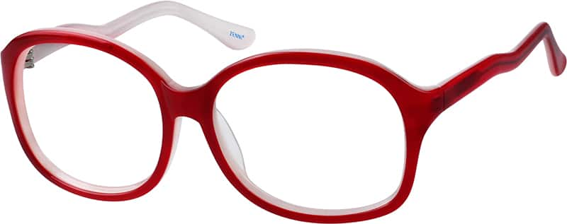 WomenFull RimAcetate/PlasticEyeglasses #111418