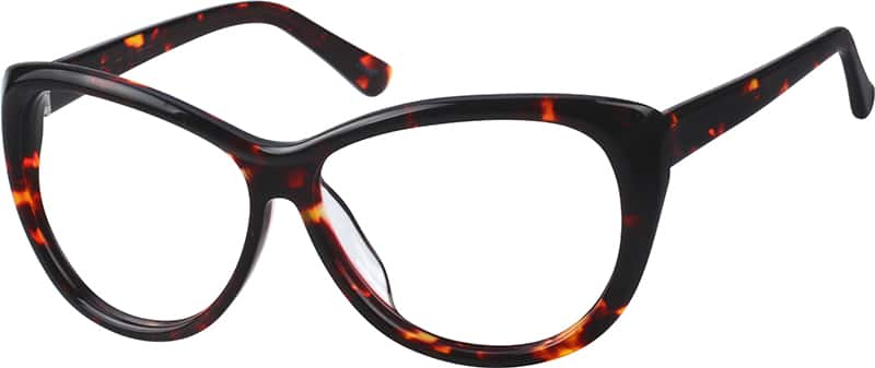 Women Full Rim Acetate/Plastic Eyeglasses #111525