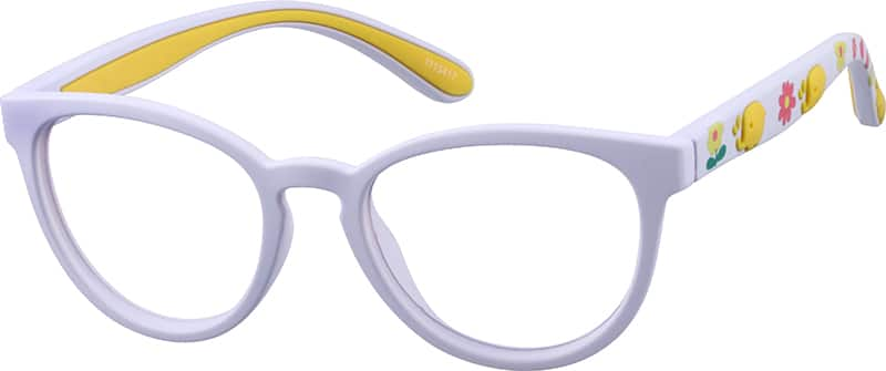 GirlFull RimAcetate/PlasticEyeglasses #1115417