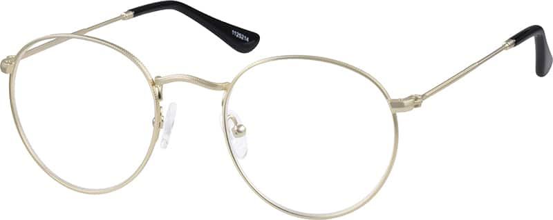 eyeglasses  Gold Sepulveda Round Eyeglasses #11252