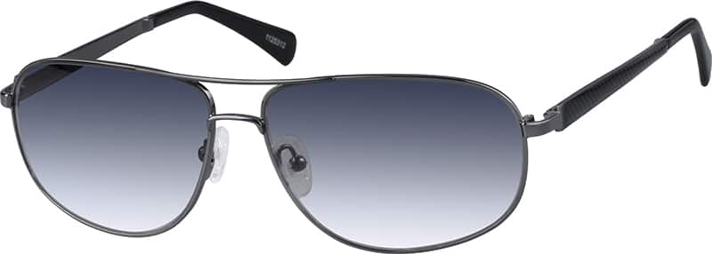 Gray Premium Aviator Sunglasses #11253 Zenni Optical ...